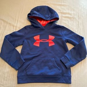 Youth small under armour hoodie